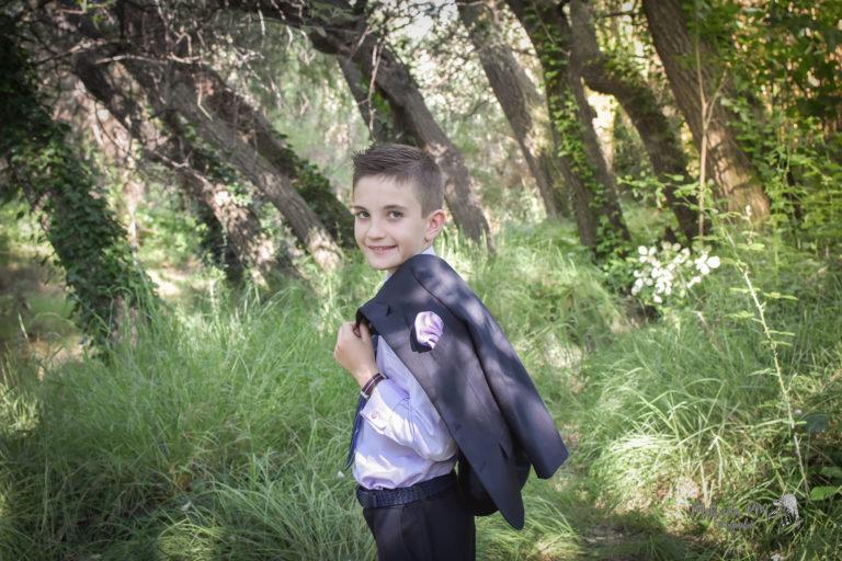 Reportaje de niño de Comunión | Raul