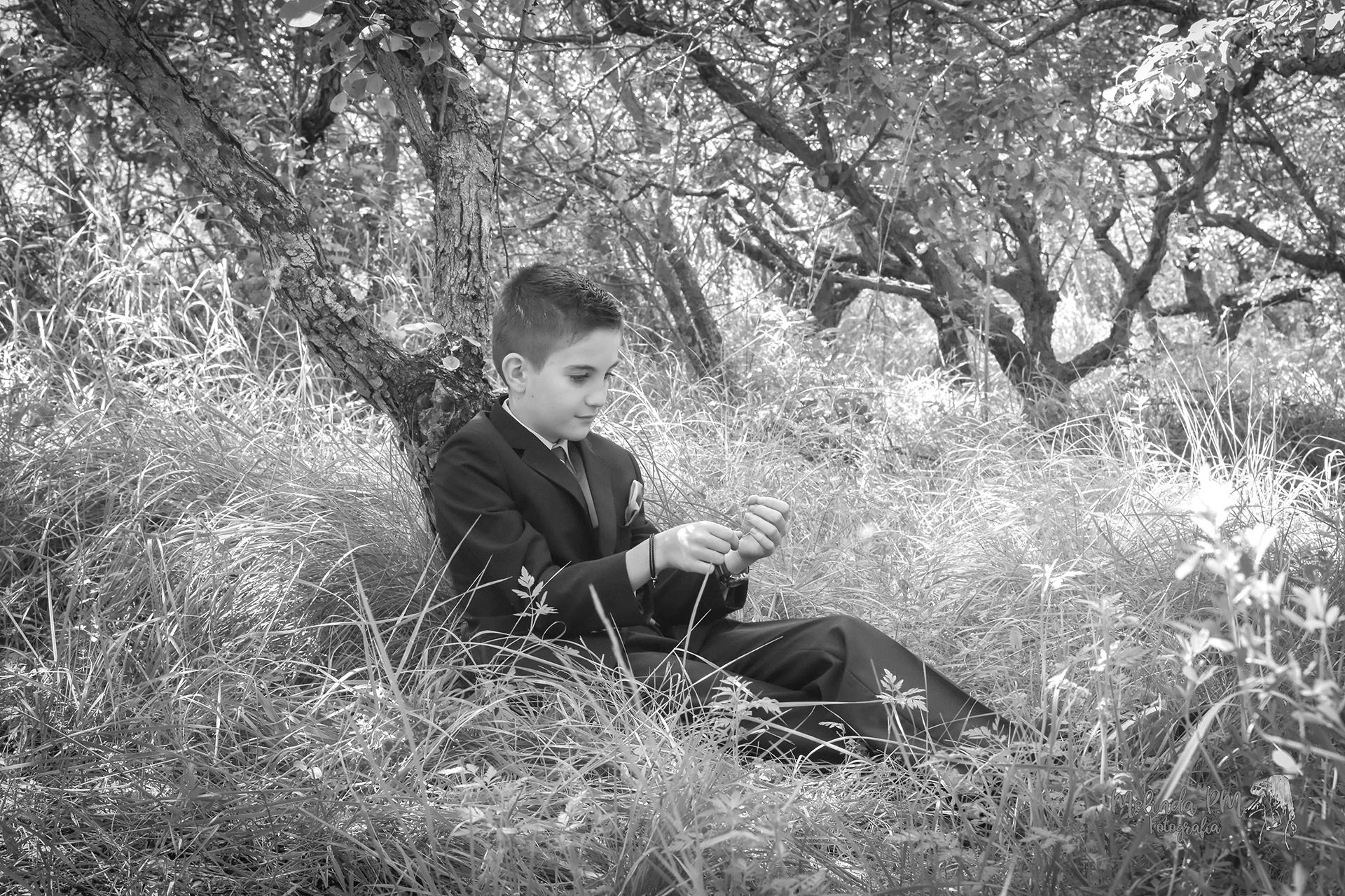 Reportaje de niño de Comunión   Raul 1