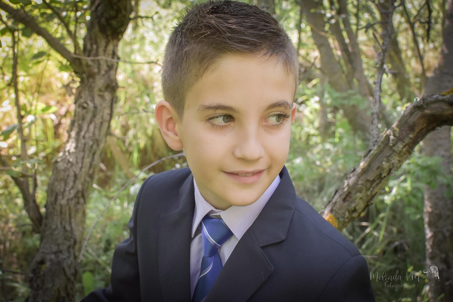 Reportaje de niño de Comunión   Raul 8