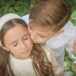 Comunión de hermanos | Paula y David